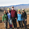 Sooz brought silly animal hats for all of us,<br /> Cori, Kathy, Eric, Sooz, Robin
