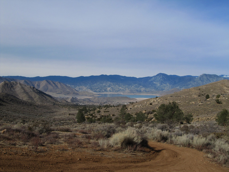 View of Lake Isabella from the trailhead