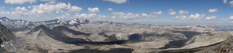 Kuna Peak Pano. SW > W > NW