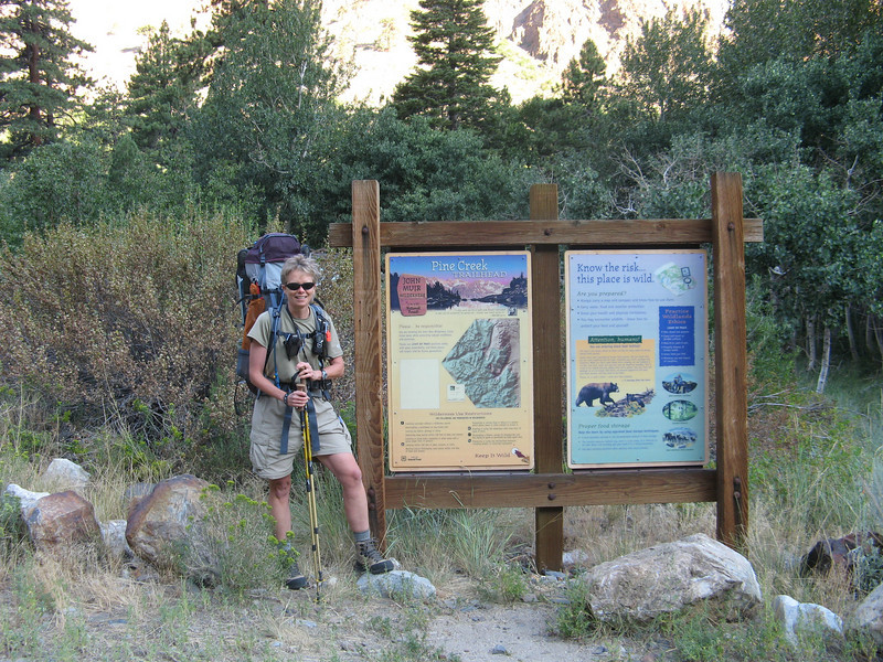 Pine Creek Trailhead