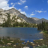 Honeymoon Lake.  We decided to head for Granite Park instead of going over Pine Creek Pass.