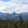 Johnson Peak (center)... what I climbed a few weeks ago.