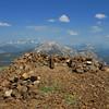 Red Peak summit; Mammoth behind