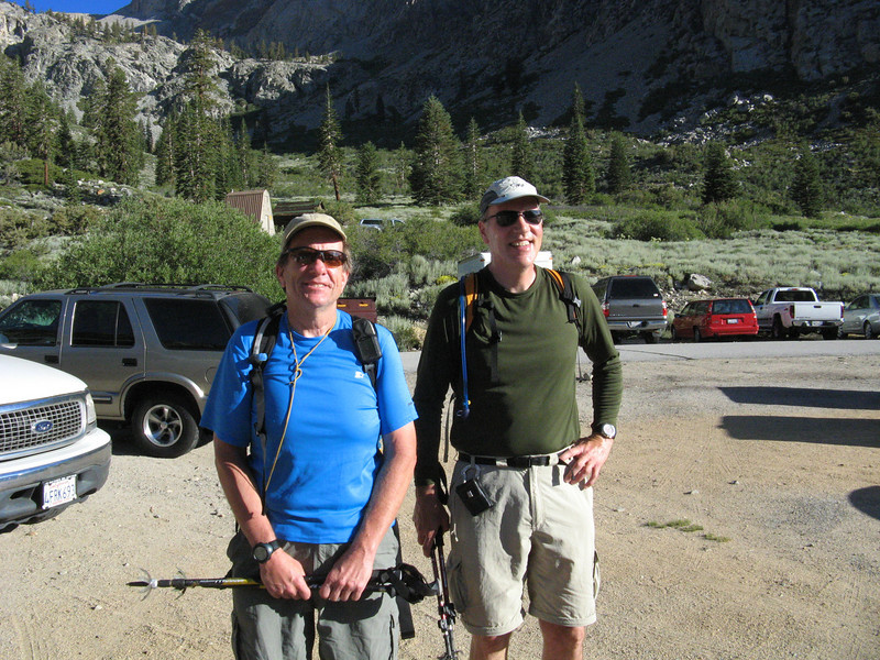 DaveG and Norris headed out for University Peak.  They summitted but got stuck on a ledge on the descent and had to bivy for the night.  SAR came and got them the next day.