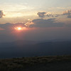 ...as the sun rises over the White Mountains to the east.