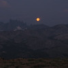 09/04/2009 - Moon sets aside the Minarets to the west...
