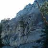 The granite ramp!  Tom and Rafael seen on it. Fun. (photo by Bob H)