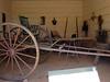 Inside carriage house