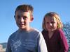Turner and his sister Arya