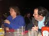 At dinner that night, Lane Boldman and Clayton Daughenbaugh