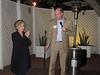 Executive director Mike Brune welcomes guest Senator Barbara Boxer