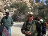 Our ranger guide has details and sotries; director Aaron Mair looks on