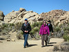 Sierra Club among the desert yuccas and rocks