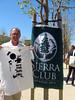 Sierra Club volunteer Sam Roberts outside the hearing