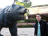 Beau with the UC Bear