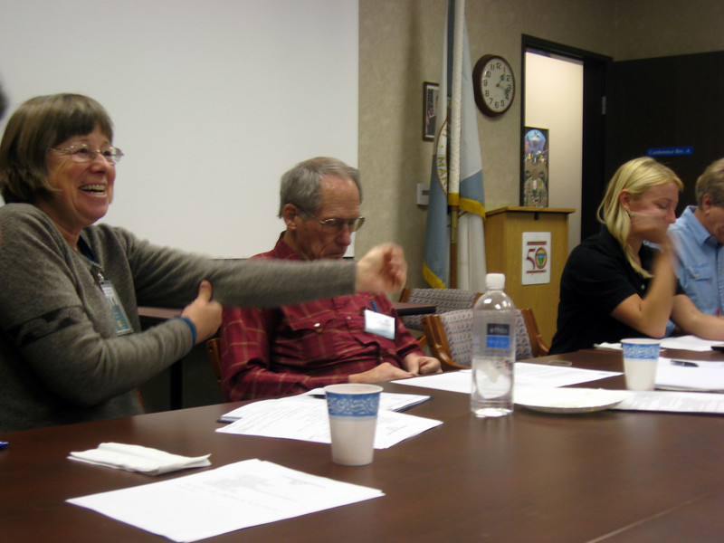 Marty, Tom, and Laurel at BLM Wilderness Leaders' meeting