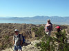 Mecca Hills hike with Joan Taylor, Jeff Morgan, and Kathy Kelley