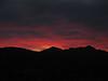 Sunset across Route 66, en route Needles