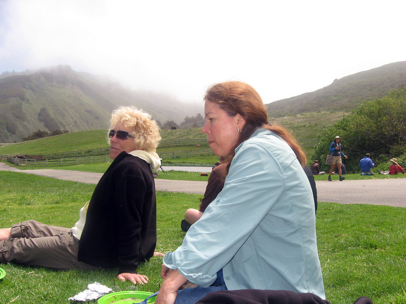 At Brazil Ranch, May 9, 2009, with Ginger Harmon and Andrea Moore