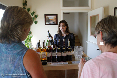 HoneyRun Winery's honey wine seen during the Sierra Oro Farm Trail Passport Weekend Saturday October 8, 2016 in Chico, California. (Emily Bertolino -- Enterprise-Record)