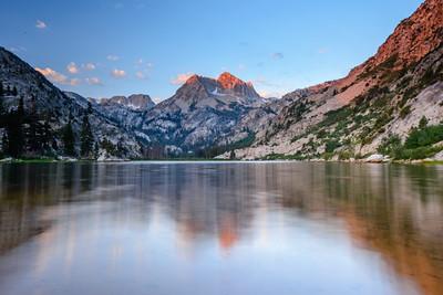 Barney Lake at Dawn