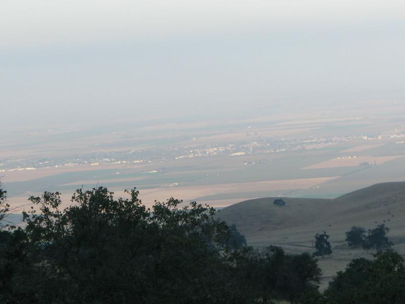 semi-hazy view of Arvin