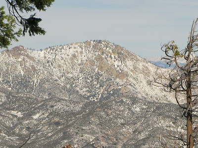 Tobias Peak and Lookout