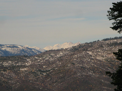 Sierra Crest - Whitney is in the background