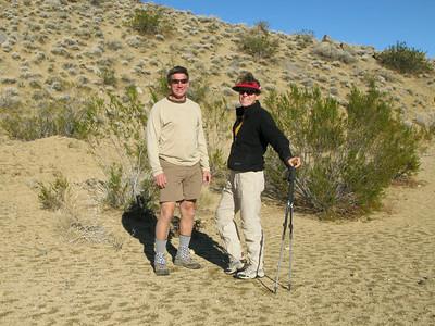 Rachel and Tom ready to start Sunday hike