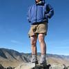 Tom on the summit of Chukkar