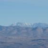 Telescope has some snow