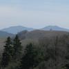 view of Double Mountain and the new Tehachapi Mountain