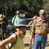 prehike gathering - Tony explains the ranch rules