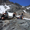 break before we start snow climbing