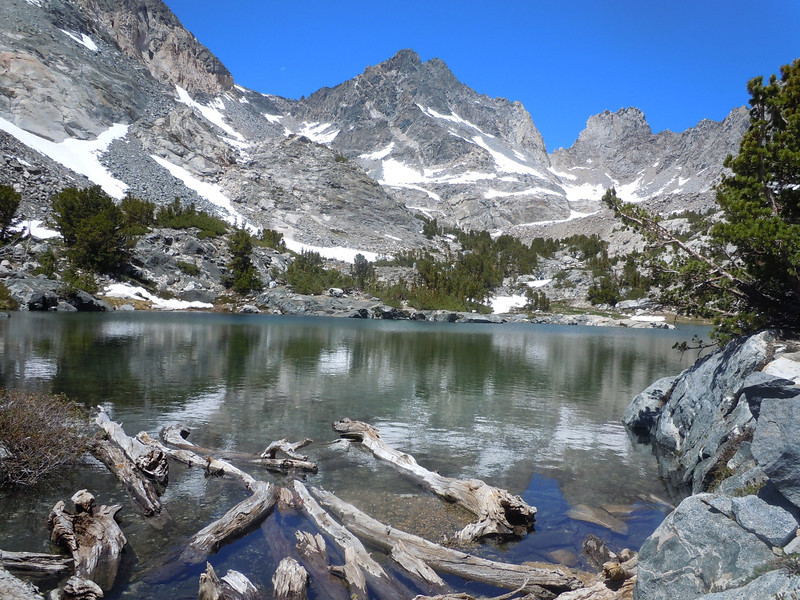 first of unnamed lakes