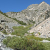 its rocky below the meadow