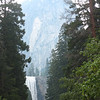 first view of Vernal Falls