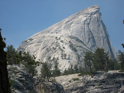 Half Dome getting closer