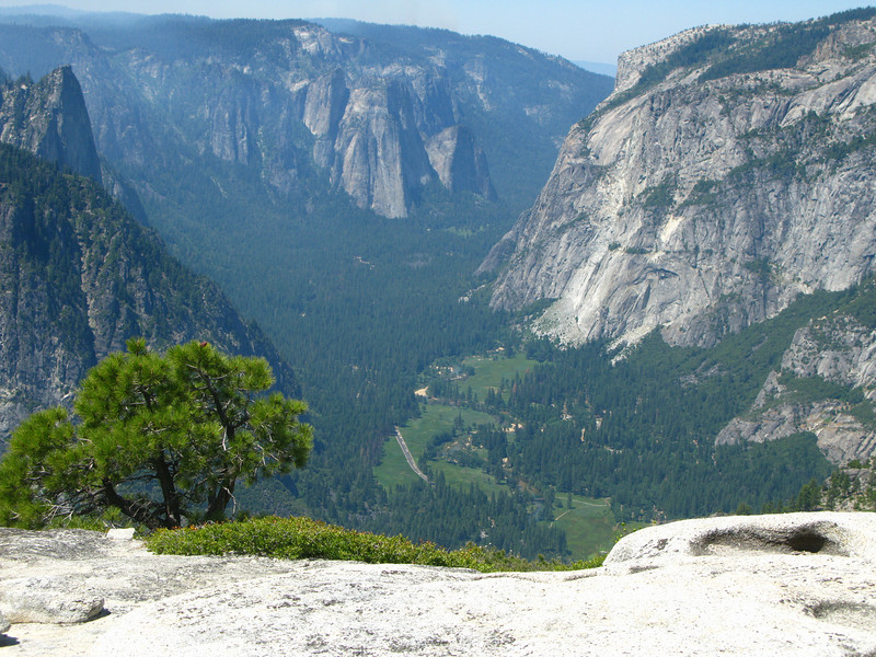 Yosemite Valley from North Dome