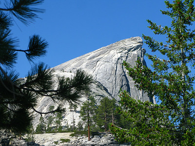 getting closer to Half Dome