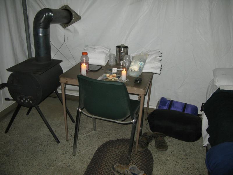 nice tent camp at Tualome