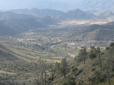 view towards Kernville