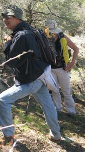 Doug showed us the trail to Harley Mine.