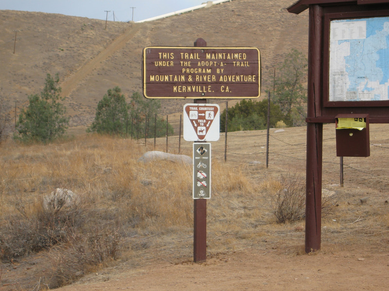 the Cannell Trailhead