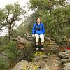 Karen on the summit
