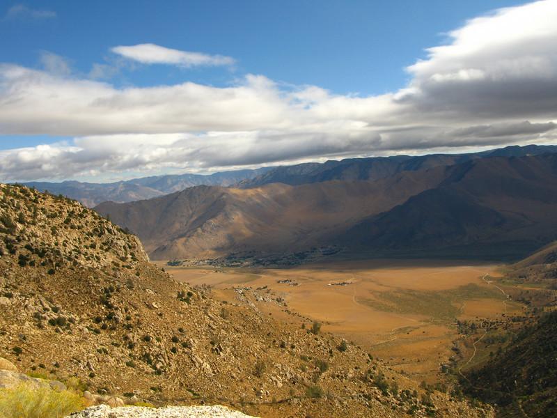 cloud layer of Onyx Peak