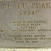 summit plaque at Heald