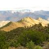 ridge looking east