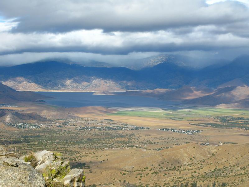 Lake Isabella and clouds