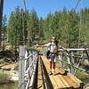 Larry on the Little Kern Horse Bridge